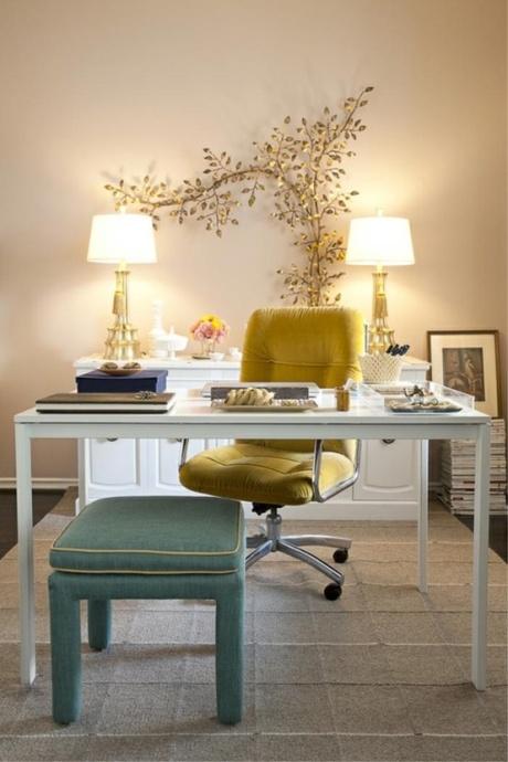 el sofa amarillo decorar con revistas (8)