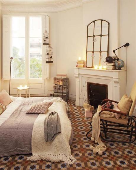 el sofá amarillo baldosas y suelos hidráulicos (11)